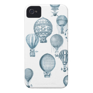 Vintage Hot Air Balloons in Flight iPhone Case