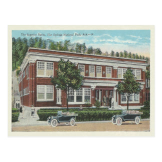 Vintage Hot Springs Arkansas Postcard