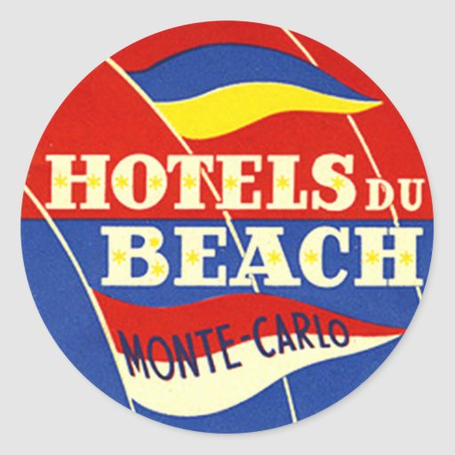 Vintage Hotel & Travel Sticker