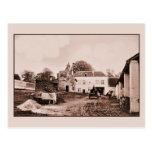 vintage Hougoumont Farm, Waterloo