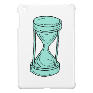 Vintage Hour Glass Drawing iPad Mini Cases