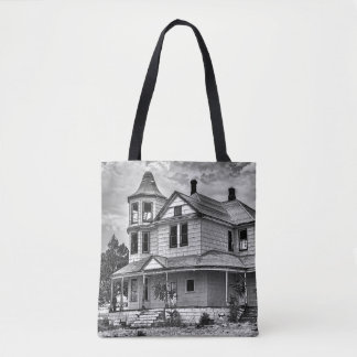 VINTAGE HOUSE TOTE BAG