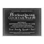 Vintage Housewarming Cocktail Party Invitation 13 Cm X 18 Cm Invitation Card