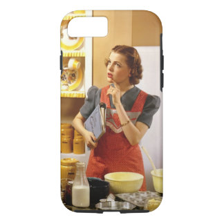 Vintage Housewife iPhone 7 case #1