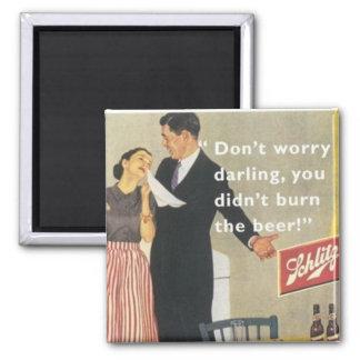 vintage housewife magnet