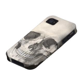 Vintage Human Anatomy Skull, Halloween Skeleton Case-Mate iPhone 4 Cases