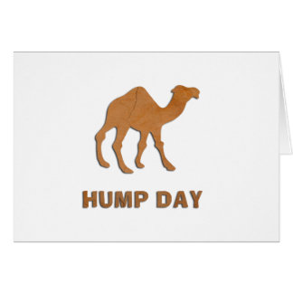 VINTAGE HUMP DAY CAMEL GREETING CARD