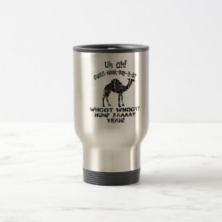 Vintage Hump Day Camel Guess What Day It Is Travel Mug