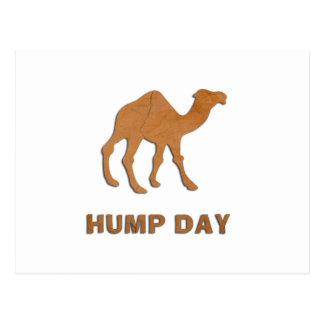 VINTAGE HUMP DAY CAMEL POSTCARD