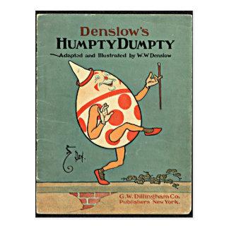 Vintage Humpty Dumpty Postcard