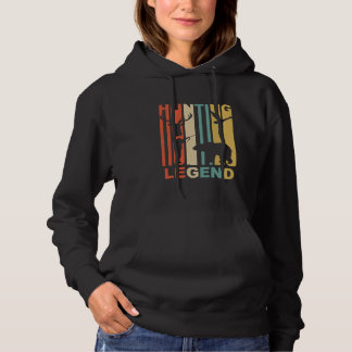 Vintage Hunting Legend Graphic Hoodie
