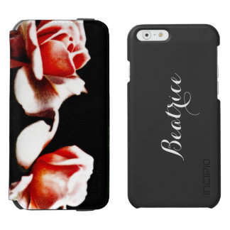 Vintage Hybrid Tea Rose Photo Incipio Watson™ iPhone 6 Wallet Case