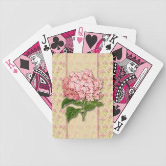 Vintage Hydrangeas Playing Cards