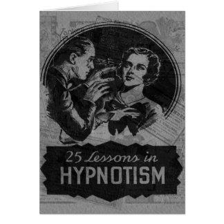 Vintage Hypnotism Card
