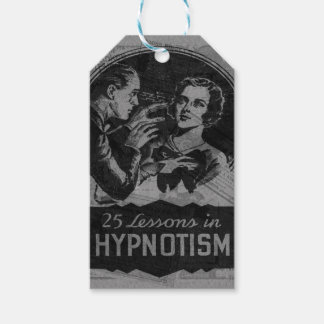 Vintage Hypnotism Gift Tags