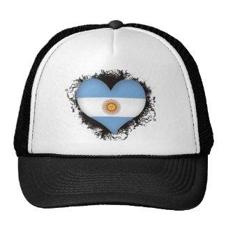 Vintage I Love Argentina Trucker Hat