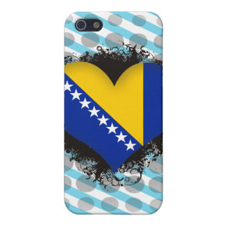 Vintage I Love Bosnia and Herzegovina iPhone 5/5S Cover