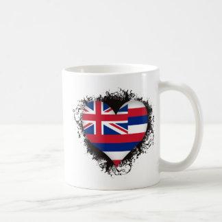 Vintage I Love Hawaii Coffee Mugs