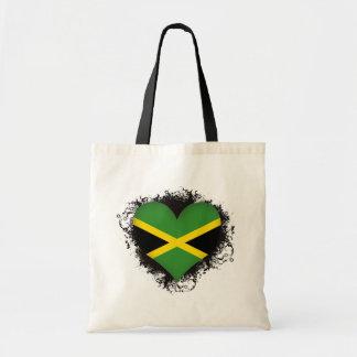 Vintage I Love Jamaica Tote Bag