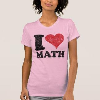 Vintage I Love Math Ladies Twofer Sheer (Fitted) Shirts