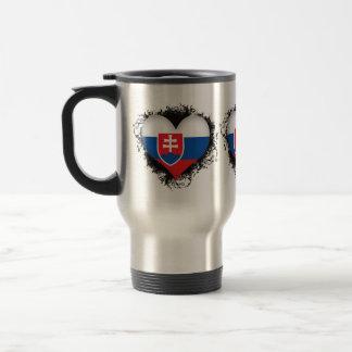 Vintage I Love Slovakia Travel Mug