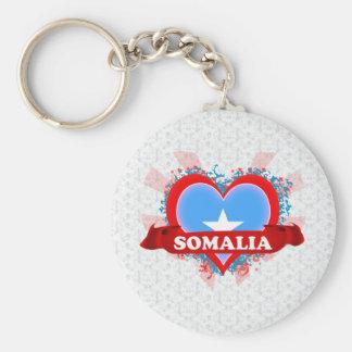 Vintage I Love Somalia Key Ring