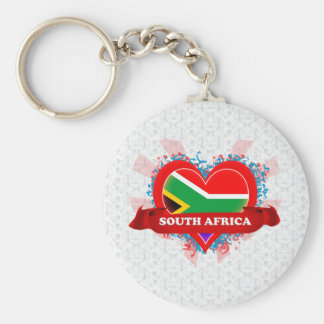 Vintage I Love South Africa Key Chains