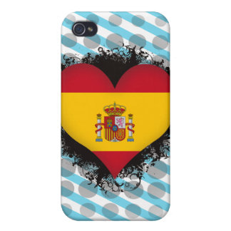 Vintage I Love Spain iPhone 4 Cases