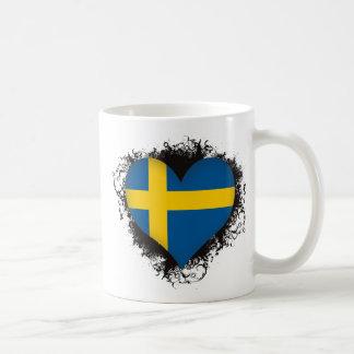 Vintage I Love Sweden Mugs