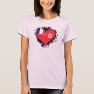 Vintage I Love Wallis and Futuna T-Shirt