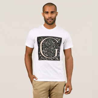 Vintage Illuminated Letter G T-Shirt 2