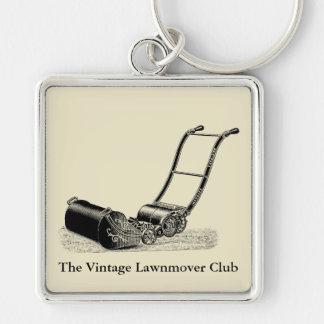 VINTAGE ILLUSTRATION Lawn Mower Custom Keychain