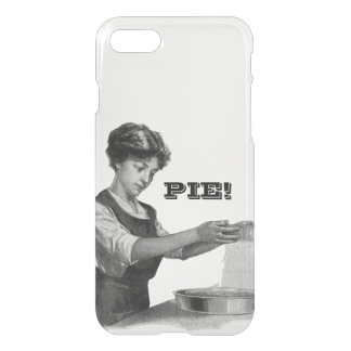 Vintage illustration of a lady baking iPhone 7 case