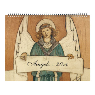 Vintage Illustration Religious Angels, Religious Wall Calendars
