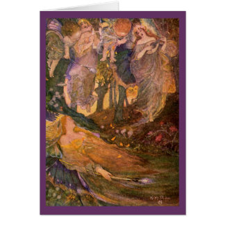 Vintage Image - A Midsummer Night's Dream Card