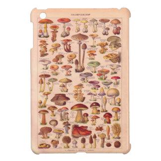 Vintage image, Mushrooms iPad Mini Cover