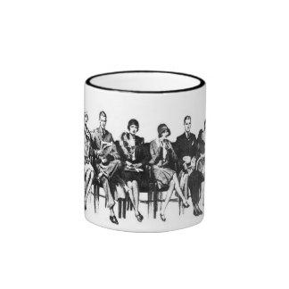 Vintage Image Sketch Classy Mug