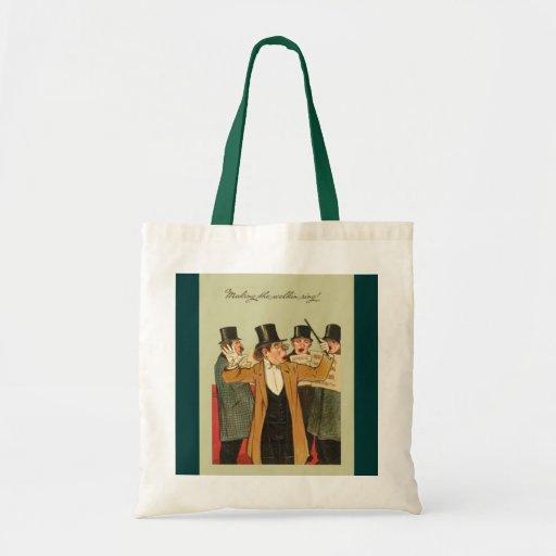 Vintage image, Welkin ring Canvas Bag