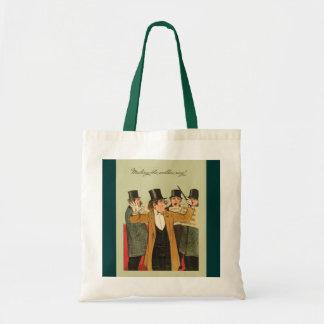 Vintage image, Welkin ring Budget Tote Bag