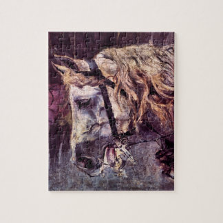 Vintage Impressionism, Head of a Horse by Boldini Jigsaw Puzzle