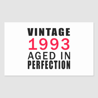 Vintage In 1993 Aged In Perfection Stickers