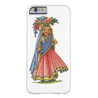 Vintage Indian Doll Barely There iPhone 6 Case