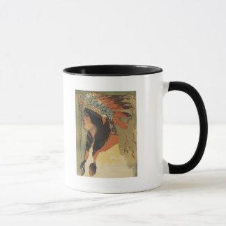 Vintage Indian Girl Mug