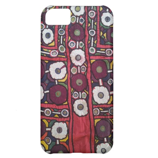 Vintage Indian Handmade Textile Print iPhone 5C Cover
