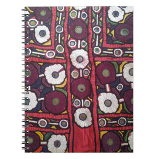 Vintage Indian Handmade Textile Print Note Books