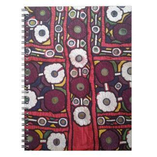 Vintage Indian Handmade Textile Print Notebooks