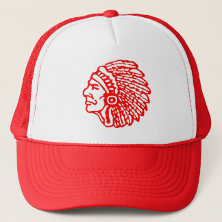 Vintage Indian Head Logo Hat