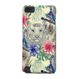 Vintage Indian Style Tiger Pattern iPod Touch 5G Case