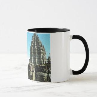 Vintage Indonesia,  Java, Prabanam Hindu temple, Mug