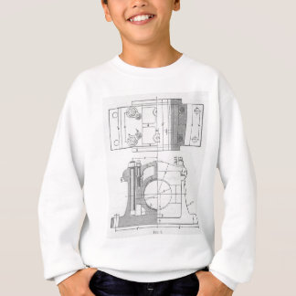 Vintage Industrial Mechanic's Graphic Sweatshirt